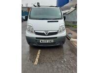 2010 59reg Vauxhall Vivaro 2.0 Cdti SWB White Starts but selling as spares or repairs