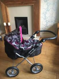 ***Immaculate Silver Cross Toy Pram***