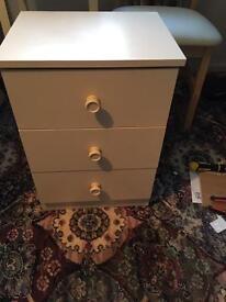 Side bed drawer