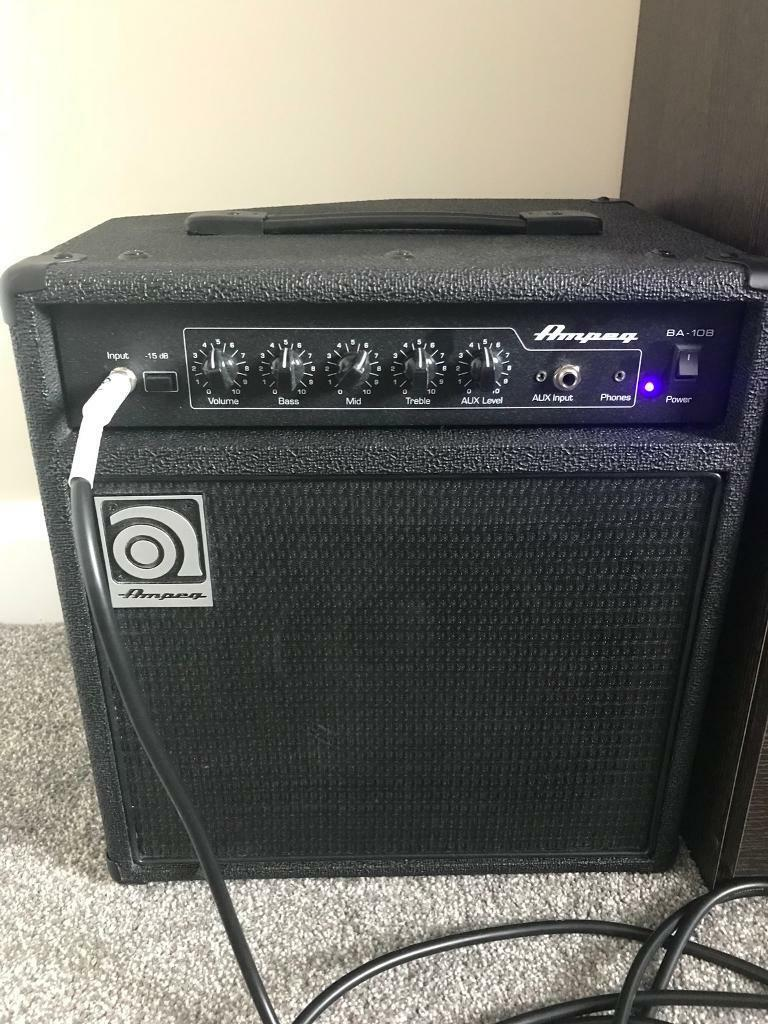 ampeg bass amp amplifier ba108 in ballynahinch county down gumtree. Black Bedroom Furniture Sets. Home Design Ideas