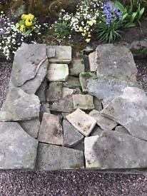York stone crazy paving