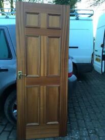 Two Internal Sapele Doors