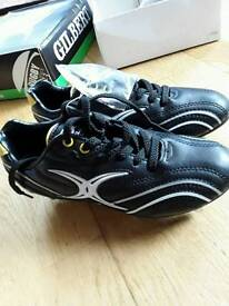 Gilbert Rugby boots size 4 brand new