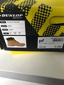 Steel toecap safety work boots- Brand New Size 6