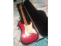 Fender American Standard Stratocaster 2000 Hot Rod Red
