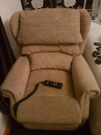 Riser and recliner chair