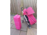 Buggy & travel cot