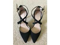 Kurt Geiger - Black Suede Heels (Size 6)