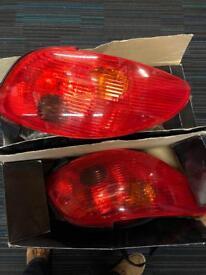 Peugeot 206 cc lights