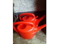 2 x new 7ltr watering cans
