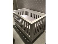 Booting Eaton convertible cot bed - excellent condition - converts into double bed