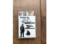 Eric B and Rakim - Don't Sweat The Technique - Cassette - Rare