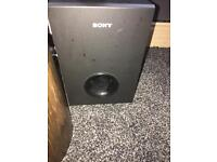 Sony sound bar for sale with subwoofer