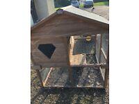 Rabbit Hutch/Chicken Coop - double storey