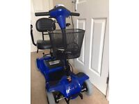Mobility Scooter Blue, RIO 4, With Very Good Battery! Perfect condition! FREE Delivery in Bristol!