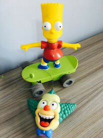 Simpson's fast remote controlled skateboard, quick sale at only £20, costs £69.95