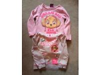 Paw patrol jumper and long sleeved tshirt age 2-3 years