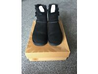 Real Mini Bailey Button Ugg Boots, size 5, brand new, with box, £100