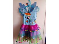 My Little Pony Rainbow Dash Fancy Dress Costume - 3-4 Years
