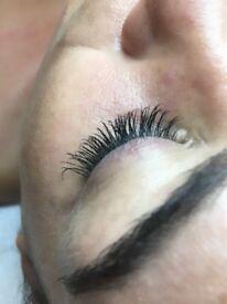 Semi permenant Eyelash extensions