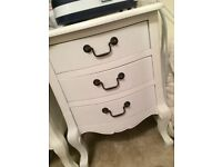 Chest of drawers, dressing table bedside table