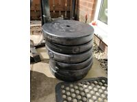 6 x 10KG Weight Plates