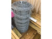 Stock fencing 50mtrs