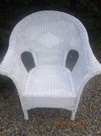 Vintage Lloyd Loom Chair in good clean condition
