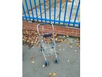 Child's shopping trolley
