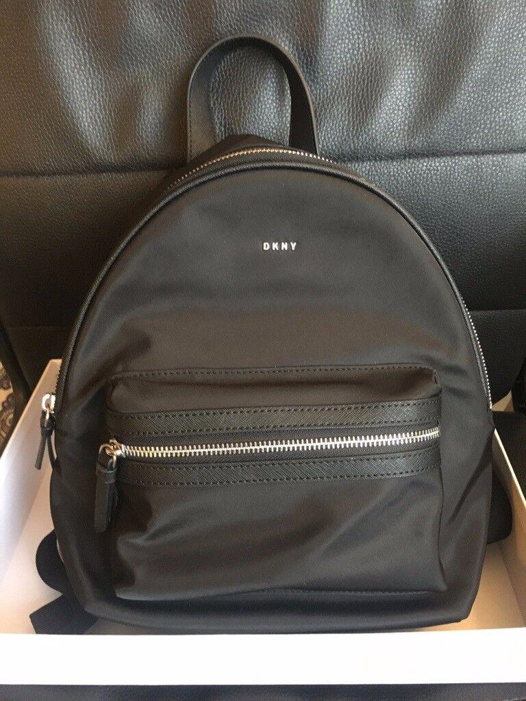 DKNY Casey Nylon Medium Backpack  956ab65296357