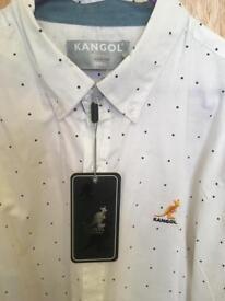 NEW kangol shirt