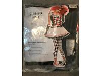 Harlequin honey fancy dress outfit