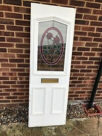 Upvc full door panel 28mm