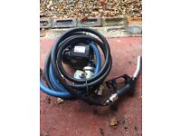 240v fuel pump dispenser hyteck
