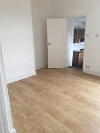 No fees. Very large 2 bed upper flat, brand new laminate flooring and decorated throughout. No fees!