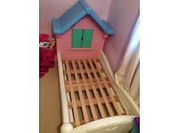 Girls little tikes toddler bed