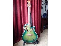 TANGLEWOOD AUTUMN LEAF electro acoustic guitar