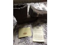 BN grey short ugg boots size 6.5