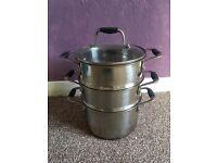 Steamer sauce pan
