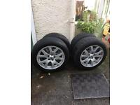 "Four Range Rover wheels 19"""