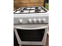 White 50cm Indesit Gas Cooker Fully Working £20 Sittingbourne