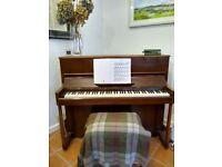 Gorgeous British Made Upright Piano - Danemann (1920s)