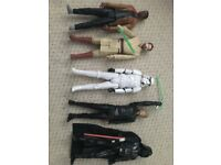 Star Wars large poseable figures