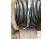 +++ new split concentric cable 1 core x 16 mm² 0,6 / 1 KV BS7870 250m electric cable +++