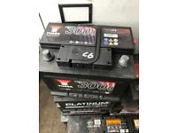 CAR AND VAN BATTERY FOR SALE - 12v - DIESEL AND PETROL