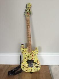 Electric Spongebob Guitar