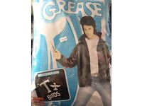 Grease T-bird leather look jacket