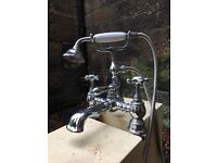 Vintage (style) Bath Mixer Taps and Shower Head