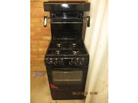 Gas Cooker. 50cm wide Newworld with eye level grill. Never been used..