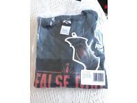 Men's DC comics men's false god saviour T-shirt